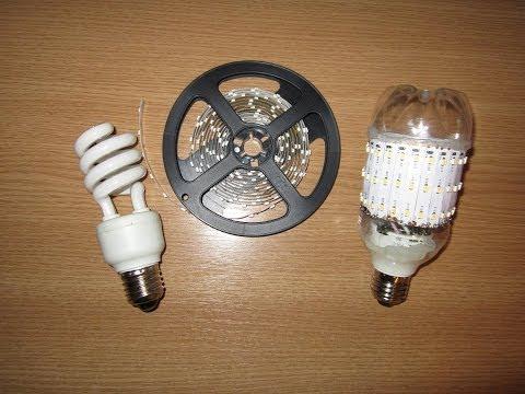 видео: Светодиодная лампочка своими руками. led lamp from old fluorescent bulb