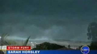 Brisbane's Wild Storms - 16 Nov, 2008 - News Footage Top 10 Video