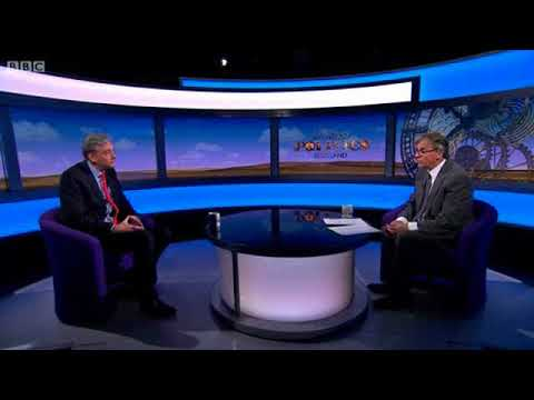 Scottish Labour Leader, Richard Leonard, on Sunday Politics Scotland