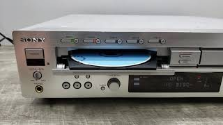 Sony RCD-W2000ES 5-Disc CD Changer and Recorder