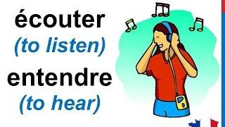 French Lesson 17 - The five senses vocabulary - Les cinq sens Vocabulaire Los cinco sentidos francés