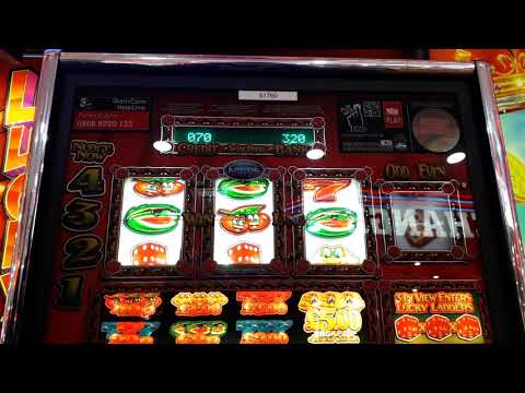 empire -  lucky ladders fruit machine - few features paignto