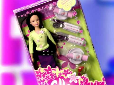 Fulla -  Doll with Porcelain Set And Watch   فلة - مجموعة الخزف