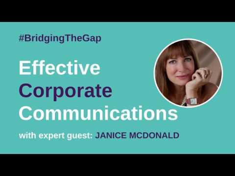 #BridgingTheGap: How To Create Effective Corporate Communications