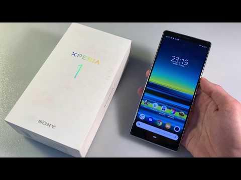 Обзор Sony Xperia 1 (J9110)