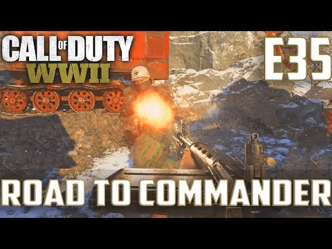 Call Of Duty World War 2(RTC)PS4 Ep.35-FFA On Gustav Cannon,Gibraltar(FG42,Type 100)