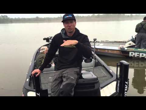 Brent Ehrler: Day 2 at the BASS Elite on the Sabine River