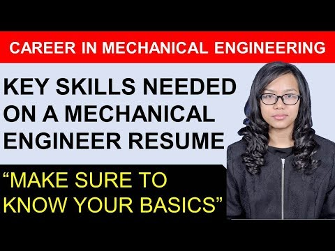 What Are The Key Skills That A Mechanical Engineering Resume Should Have? | By Emrys Gintings