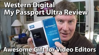 My Passport Ultra Hard Drive 2015 - Review and Write Speed Test