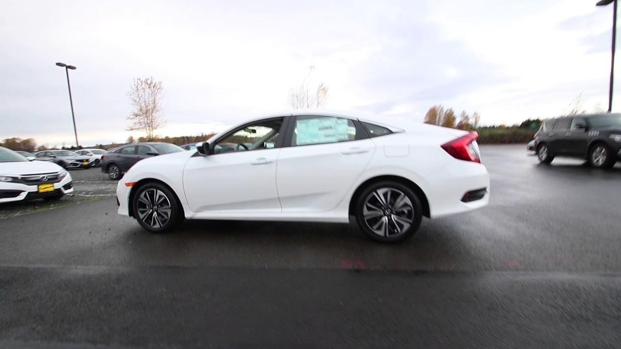 Honda Civic Ex T White Orchid Pearl