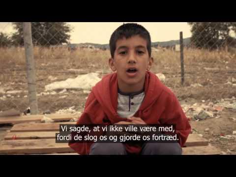 Støt Syriens børn – Mød Hamza på 10 år og hans søskende