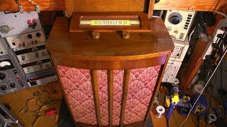 "Electronic Restoration Fun- 1947 Rogers ""Chairside"" Radio!"