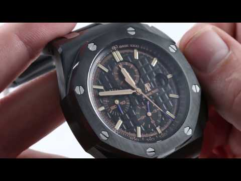 Audemars Piguet Royal Oak Offshore Chronograph 26405CE.OO.02 Luxury Watch Review