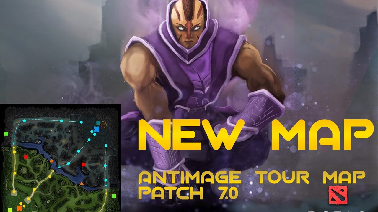dota 2 new map update patch 7 0 youtube