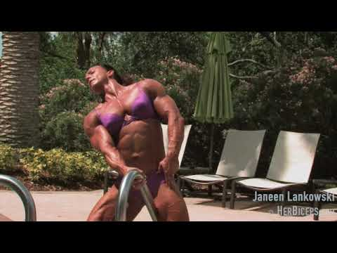 Female Bodybuilder Janeen Lankowski photoshoot