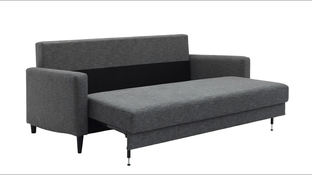 G Plan Vintage The Fifty Four Sofa Bed Unfolding Youtube