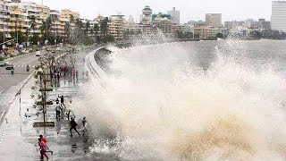 Marine drive Hightide | Mumbai Rains | HD| Mumbai |