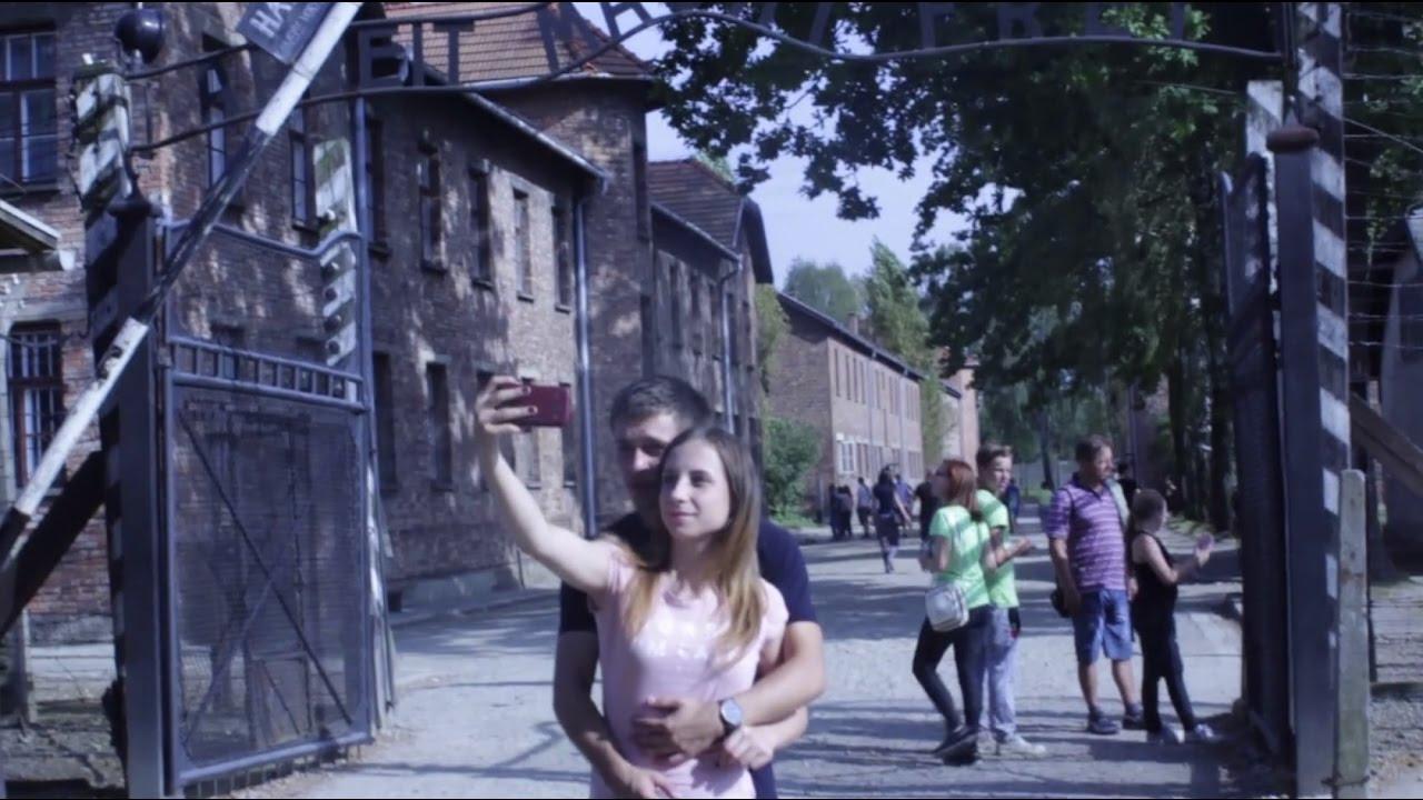 Selfies at Auschwitz