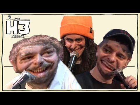 Post Malone makes the H3 Podcast Weird
