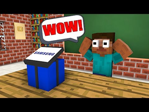 Monster School : FREE GIFT FROM SAMSUNG  Minecraft Animation