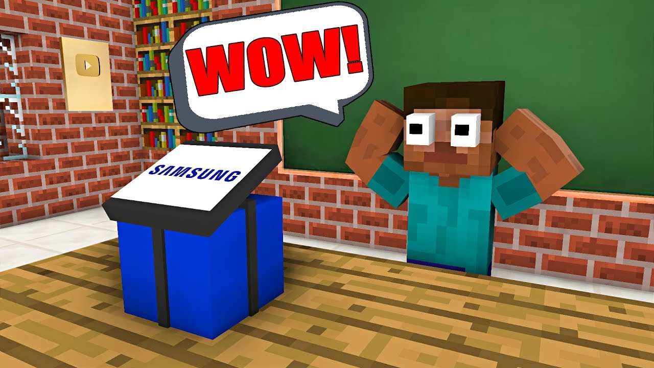 Monster School : FREE GIFT FROM SAMSUNG - Minecraft Animation