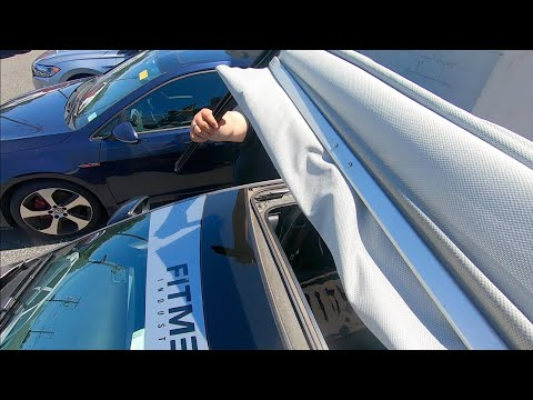How To: Replace VW CC Sunroof Shade
