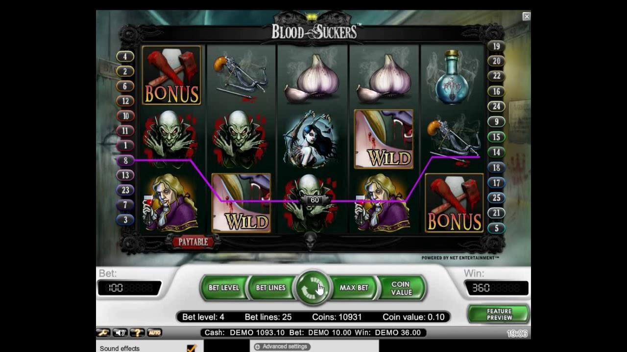Игровой автомат blood suckers twisted sister 100