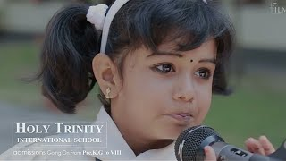 Holy Trinity International School | Television Advertisement | SHIJU NS | AKHIL MS | MARIA PRAVIN