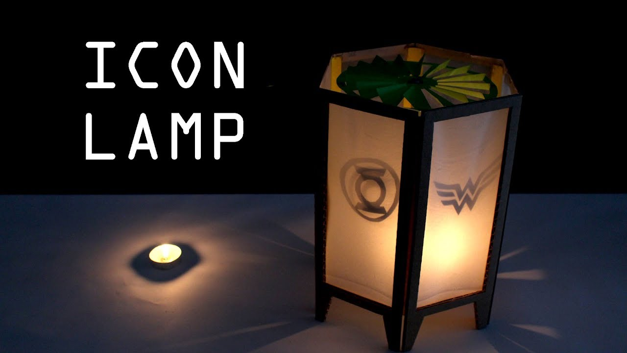 How to make SPINNING ICON LAMP for Christmas - Just5mins - YouTube for How To Make A Spinning Lamp  557ylc