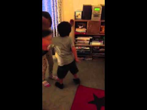 Kid Gets Caught Dancing In His Room