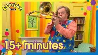 Mr Tumble's Music and Dance Compilation | +15 Minutes!