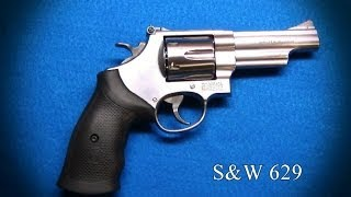 Gun Porn Smith & Wesson 629 4.2 inch Stainless 44 Magnum