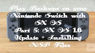 Install eshop games updates dlc with sxos on nintendo switch