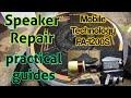 """Speaker Repair : 12"""" Mobile Technology PA-1200S"""