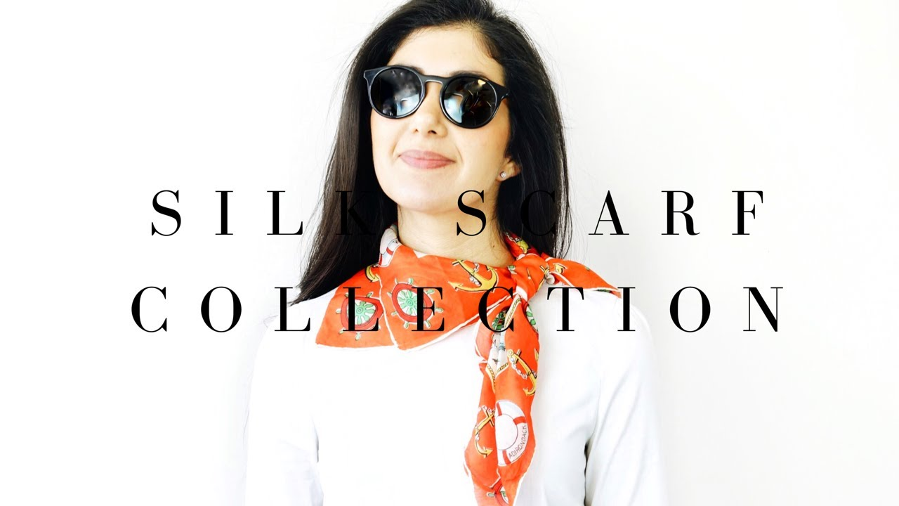 0a65702f979021 My Silk Scarf Collection - Hermes, Vintage, Chanel, Tiffany + More ...
