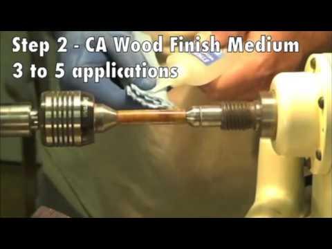 Stick Fast CA Wood Finish System