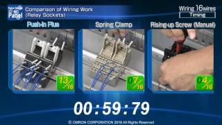 Push-In Plus Terminal - comparison vs spring clamp and screw (manual)