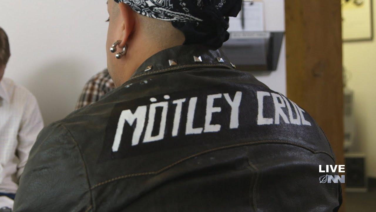 Motley crue denim jacket