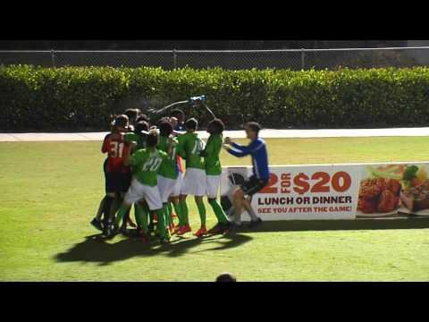 FGCU 3, Jacksonville 2: ASUN Men's Soccer Championship Final