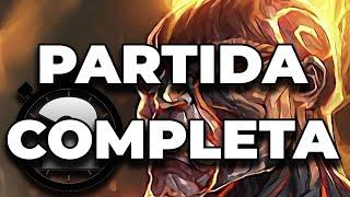 Como Jugar BRAND Partida Completa | League of Legends