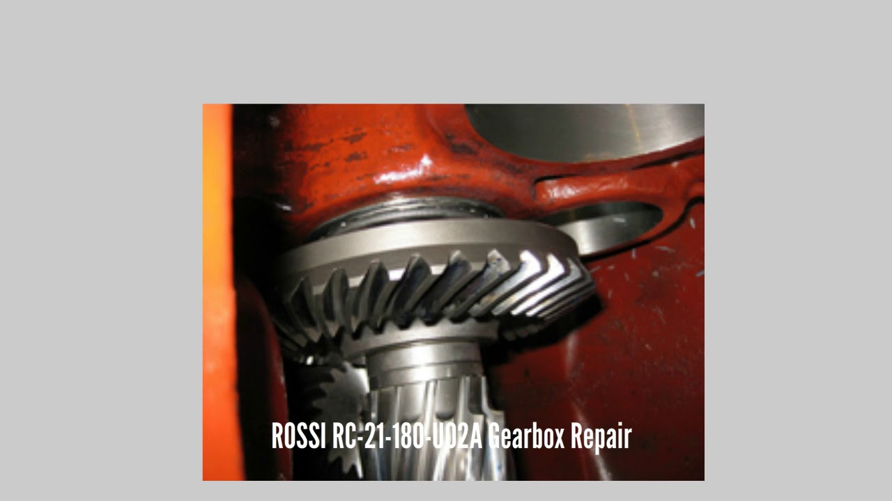 Rossi RC-21-180-UO2A getriebe durch GBS Gearbox Services international