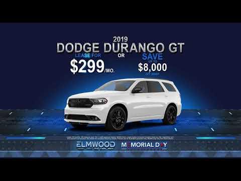 Memorial Day Sales Event - 2019 Dodge Durango GT/Jeep Wrangler JL