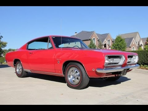 1968 Plymouth Barracuda Formula S Test Drive Classic Muscle Car For Sale In MI Vanguard Motor Sales