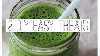 Two Easy DIY Treats! Thumbnail