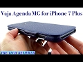A Super Slim, Ultra Premium Leather Folio Case for iPhone 7+? Check out Vaja Agenda MG!