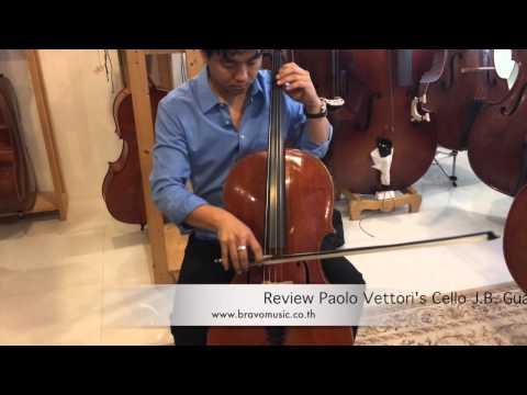 Review Paolo Vettori's Cello J.B. Guadagnini
