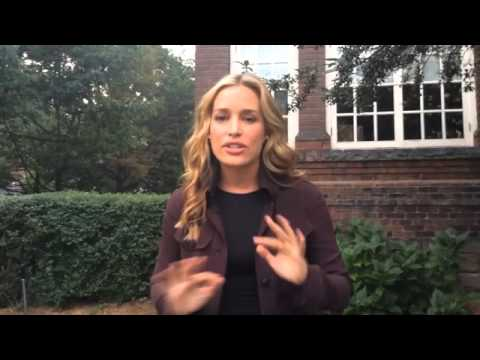 Ice Bucket Challenge with Piper Perabo & I