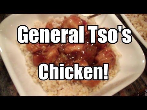 General Tso's Chicken - Ninja Cooking System