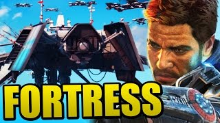 Just Cause 3 - LIBERATING THE SKY FORTRESS!!! (Just Cause 3 Sky Fortress DLC)