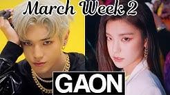 [TOP 50] Gaon Korean Music Chart 2020 [March Week 2]